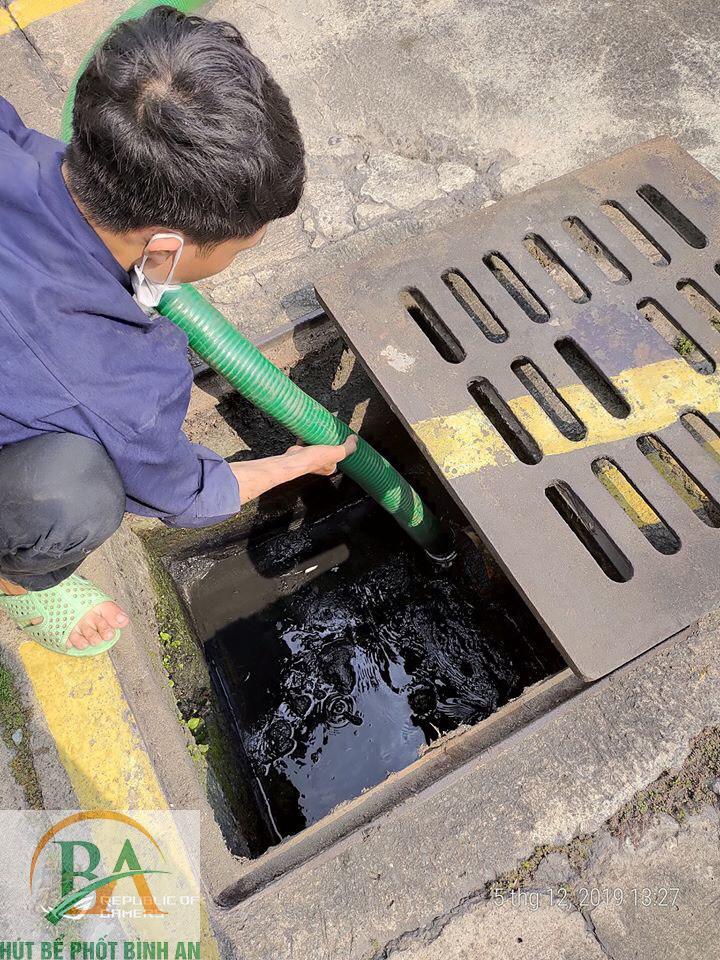 hút bể phốt tại Phú Thọ