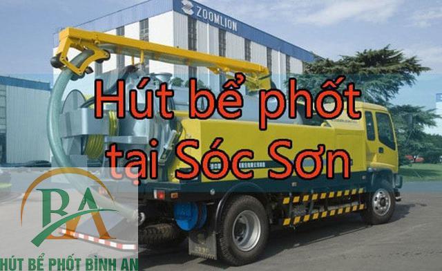 Dịch vụ hút bể phốt tại Sóc Sơn