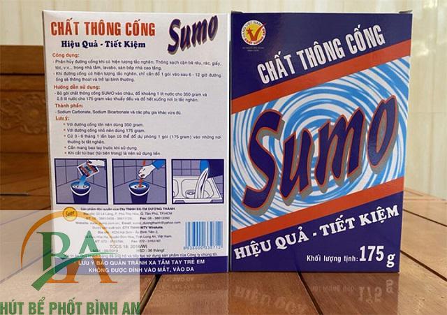 Bột thông đường cống Sumo