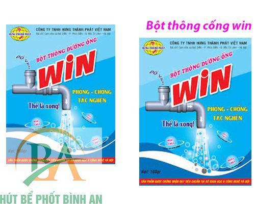Bột thông đường cống Win của Thái Lan