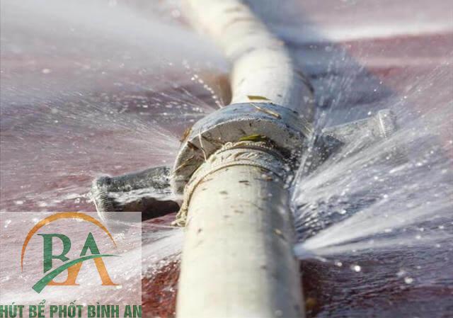 đường dẫn nước kém chất lượng