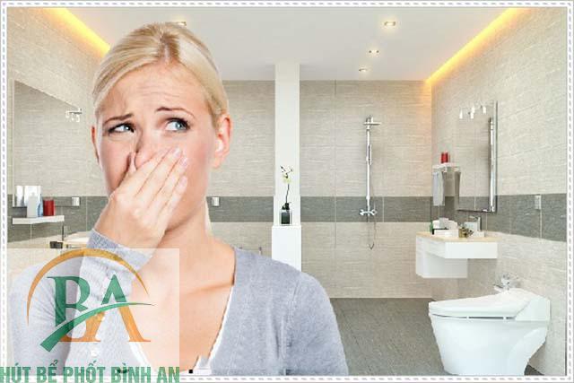 mùi hôi nhà vệ sinh có từ đâu