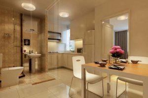 Cách bố trí phòng bếp và nhà vệ sinh mang lại tài lộc và phong thủy