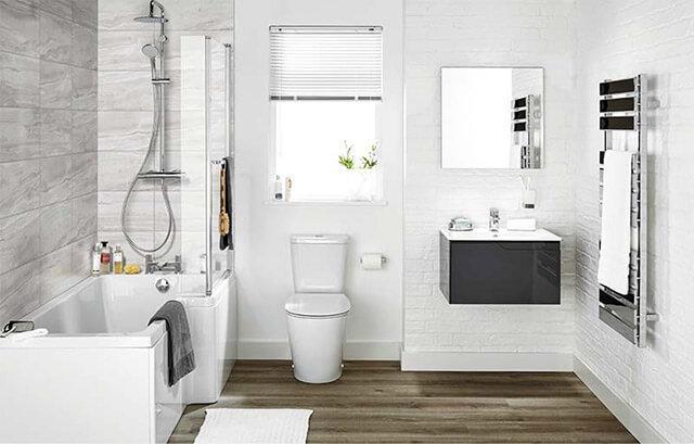 Lưu ý khi bố trí nhà vệ sinh 2m2