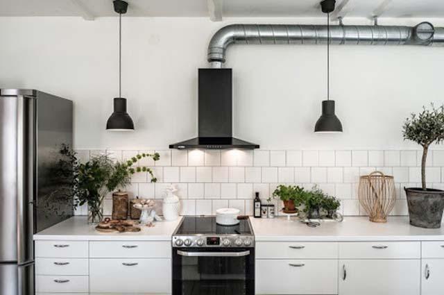 Sử dụng quạt hút mùi trong phòng bếp
