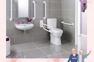 Thiết kế nhà vệ sinh cho người già an toàn và tiện nghi